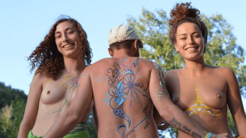 Athena Helios: Body Painting